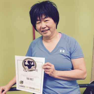 St.Albert woman loses fat in her first 5 weeks!