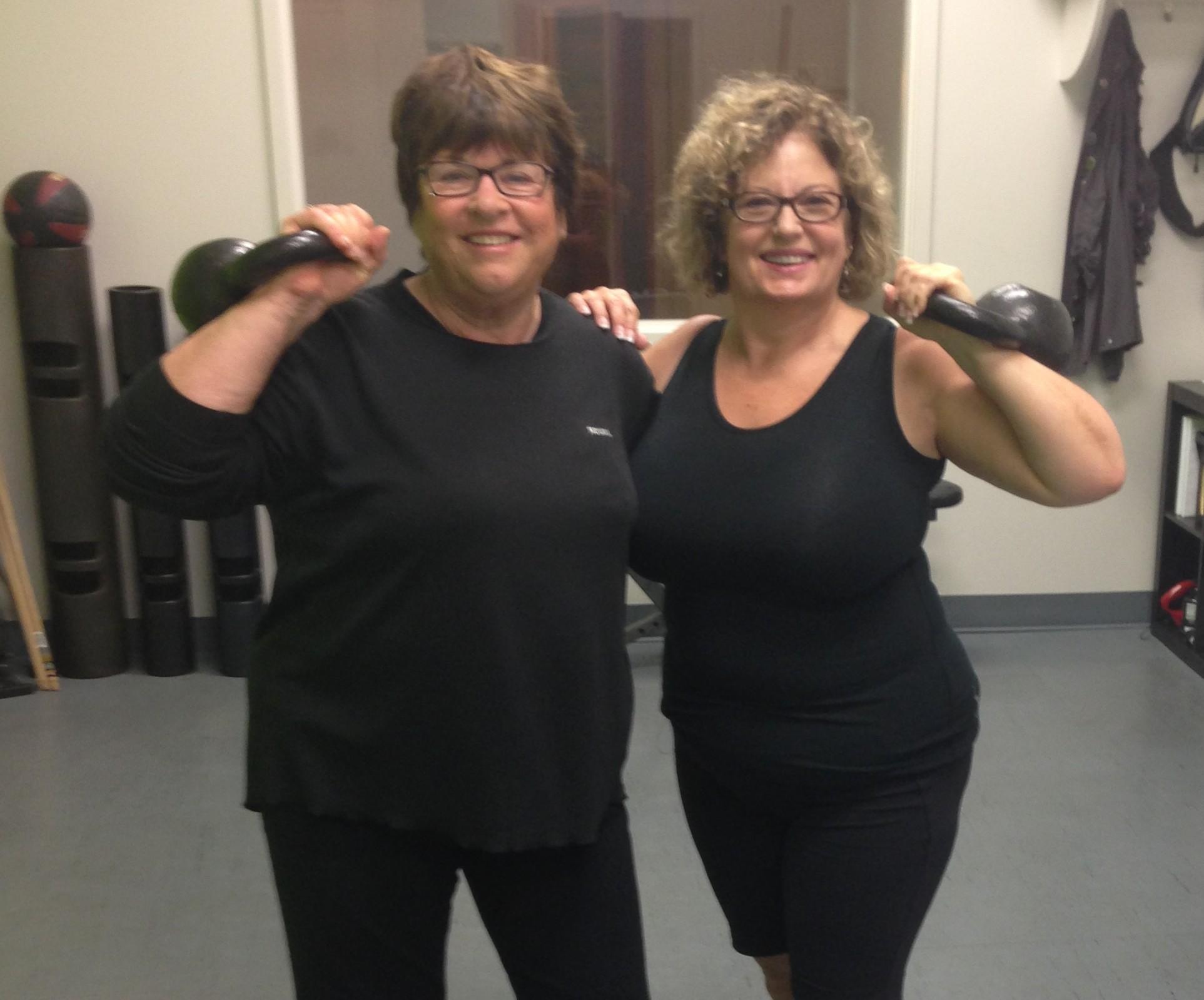 Meet Janet & Myrna